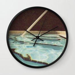 To Summer Wall Clock