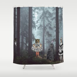 KID'S EATERS Shower Curtain