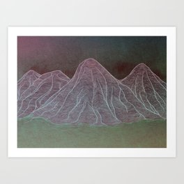 Range - Original Art Print
