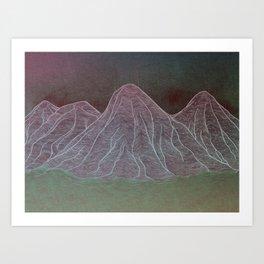 Range - Original Art Print