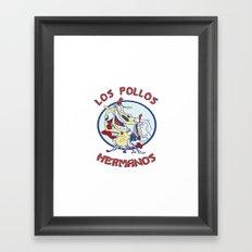 Los pollos hermanos Framed Art Print