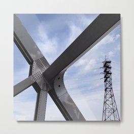 connectivity Metal Print