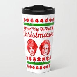 Golden Girls Christmas Travel Mug