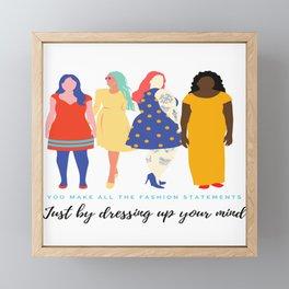 Beauty In Ugly Framed Mini Art Print