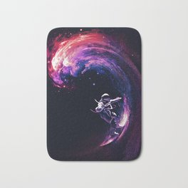 Space Surfing Bath Mat