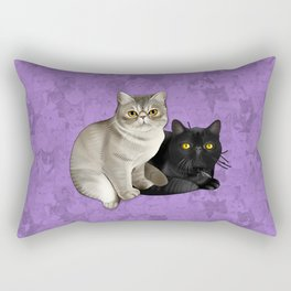 Trixie and Monty Rectangular Pillow