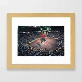 Awkward Arena Framed Art Print