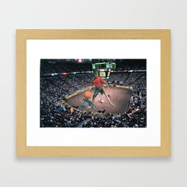 Awkward Arena Framed Art Print