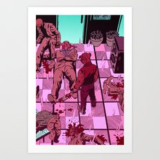 Hotline Miami Art Print