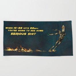 IG-88 Beach Towel