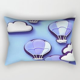 Cloudy Days Rectangular Pillow