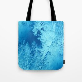 Icy Winter..... Tote Bag