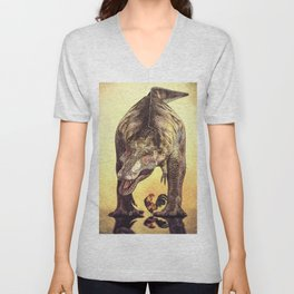 Discussion of Evolution Unisex V-Neck