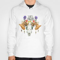 totes Hoodies featuring Totes Magotes by Ariana Victoria Rose