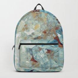 Heavenly Blue Quartz Crystal Backpack