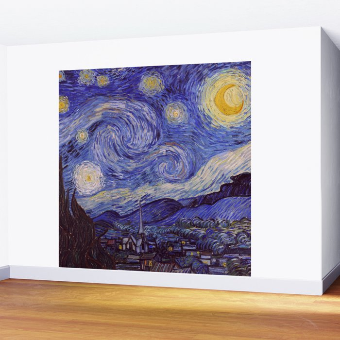 Vincent Van Gogh Starry Night Wall Mural