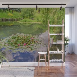 The Water Lily Pond Wall Mural