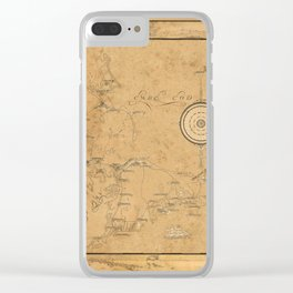 Map of Cape Cod 1931 Clear iPhone Case