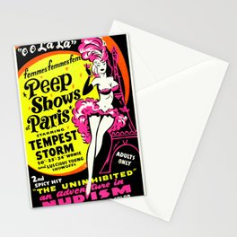 Peep Show Paris Stationery Cards