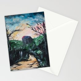 Cabin - painting series Stationery Cards