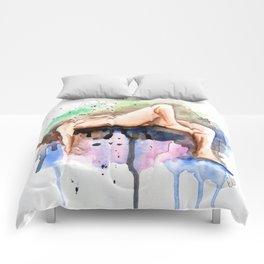 Flying Figure Comforters
