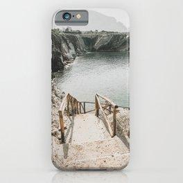 Emerald lagoon iPhone Case