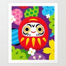 Daruma Art Print