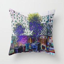 Petit Jardin Throw Pillow