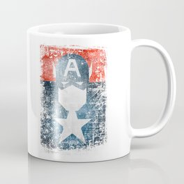 Yankee Captain grunge superhero Coffee Mug