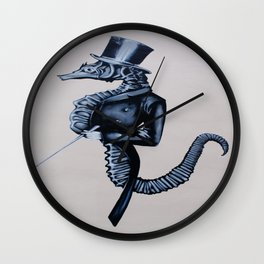 Mr Steampunk Wall Clock