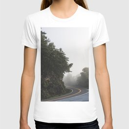 Roadway in Georgia #fog #nature #scene T-shirt