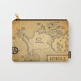 Hyrule Map  OOT Carry-All Pouch