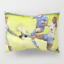 Ledley King tackles Robben Pillow Sham