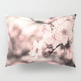 Sweet Spring (White Cherry Blossom) Pillow Sham