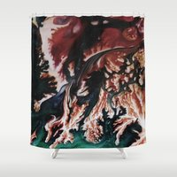 victorian Shower Curtains featuring VICTORIAN by ....