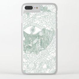 The Watchful Eye Clear iPhone Case
