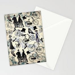 Victorian Bicycles and Fashion Stationery Cards