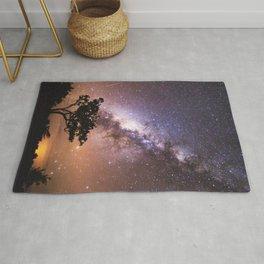 Milky Way Stars South Western Tree Rug