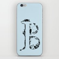 font iPhone & iPod Skins featuring B FONT by riz lau