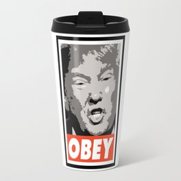 Obey Trump Travel Mug