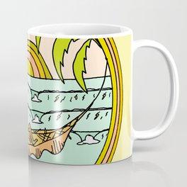 peaceful hammock life Coffee Mug