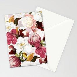 Vintage & Shabby Chic -Vintage Botanical Summer Garden    Stationery Cards