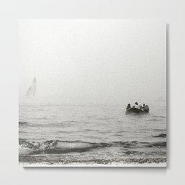 On the sea Metal Print