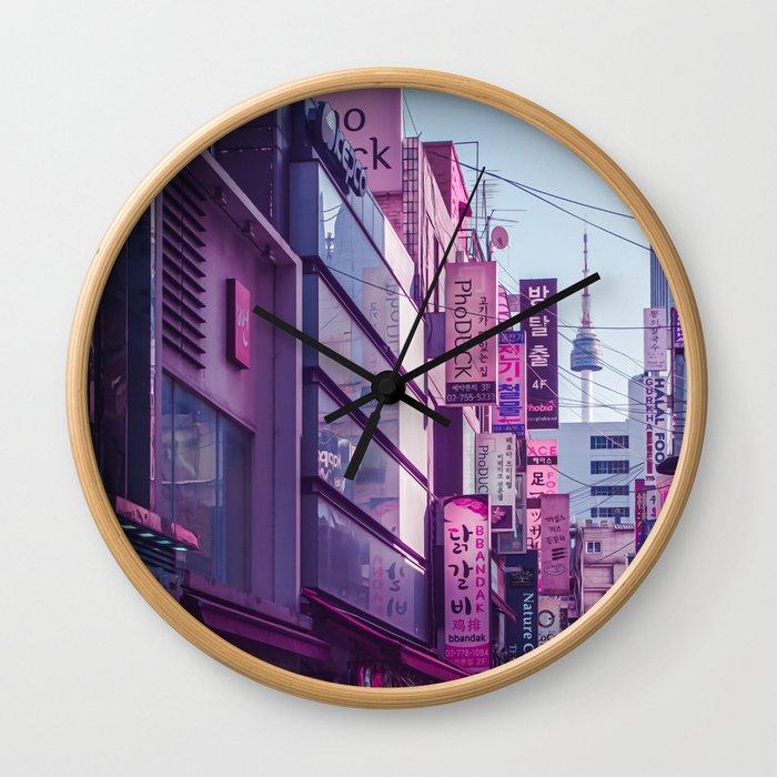 Seoul - Anime World Wall Clock