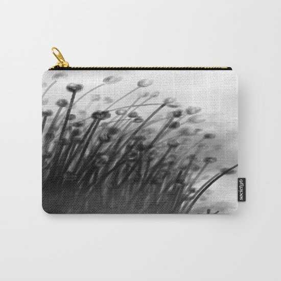 Black Lily Flowers Carry-All Pouch