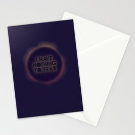 I have nothing to fear Stationery Cards