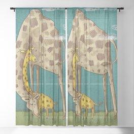 sleep well Sheer Curtain