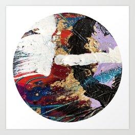 Hidden Treasure Abstract Art Print