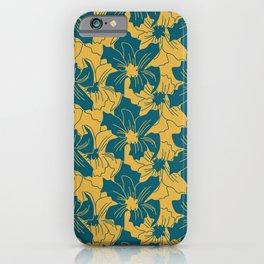 Louisiana Iris (Zest) iPhone Case
