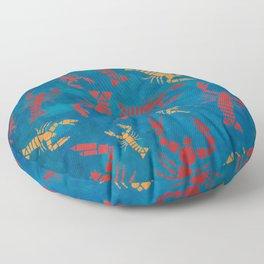Lobsters Floor Pillow